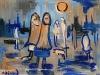 Blue Night Shawls