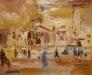 Rain Trafalgar Square