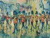 Rain, Guards Band, Buckingham Palace