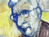 Portrait Of LS Lowry