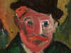 Portrait Of Vlaminck  (After Derain)