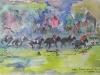 Horses 'Swinley Bottom' Ascot