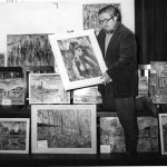 isherwood-preparing-for-an-exhibition